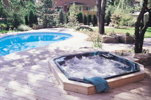 pool hot tub lighting contractor